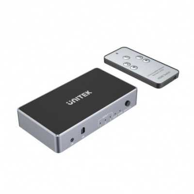 Unitek (V1111A) HDMI Switch 3 In 1 Out Support 4K