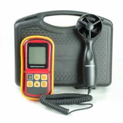 Partlist Portable LCD Air Flow Anemometer (RZ8901)