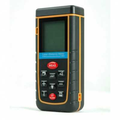 Partlist Laser Distance Meter with Level Bubble 0.05 - 100 Meter (RZA100)