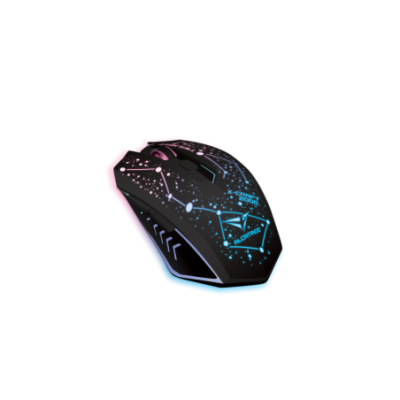ALCATROZ (X-Craft Air Twilight 2000) 7 Color Graphic Lighting Wireless Optical Mouse (3200CPI)