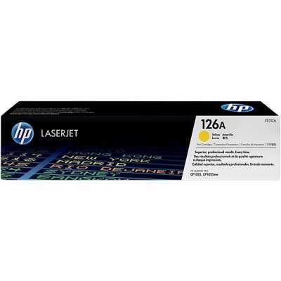 HP (CE312A) 126A Yellow Toner Cartridge - 1000 pages