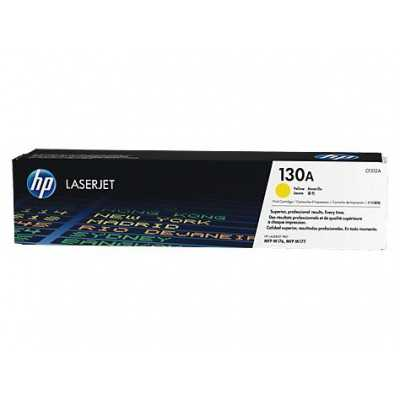 HP (CF352A) 130A Yellow Toner Cartridge - 1000 pages