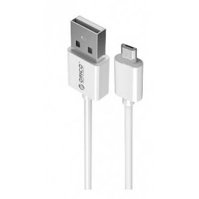 Orico (ADC-S1-WH) 30cm (USB-A Male to MicroUSB Male) Cable Data/Charging