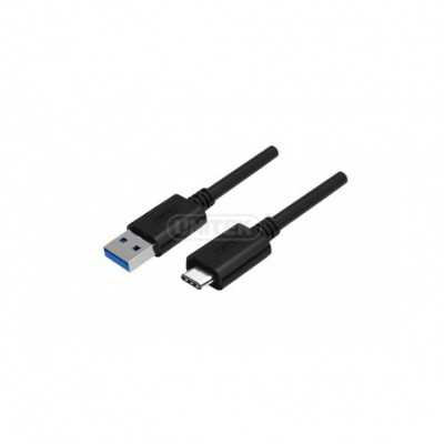 """UNITEK (Y-C474BK) 1Meter (USB-A Male to USB-C """"Type-C"""" Male) Cable Data/Charging"""