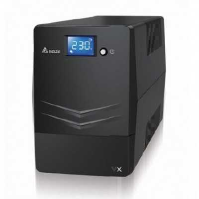 Delta DLT-VX1000 (UPA102V2100BB) Line Interactive 1000VA/600W UPS with LCD Touch Panel
