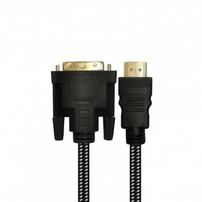 """Cablelist """"4K"""" 1Meter (DVI Male to HDMI2.0 Male) Dual Link Copper Cable (CL-DVIHD1M4K)"""