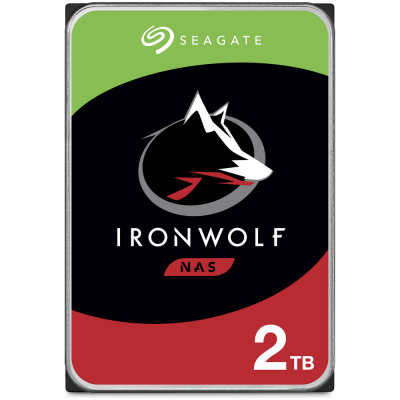 """Seagate IronWolf 2TB (ST2000VN004) 3.5"""" 5900RPM NAS HDD"""