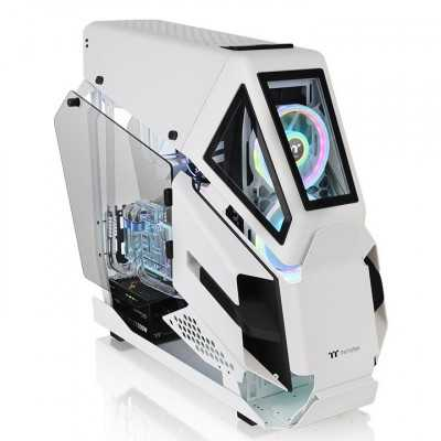 Thermaltake (AH T600 SNOW WHITE) Tempered Glass E-ATX Full Tower Case