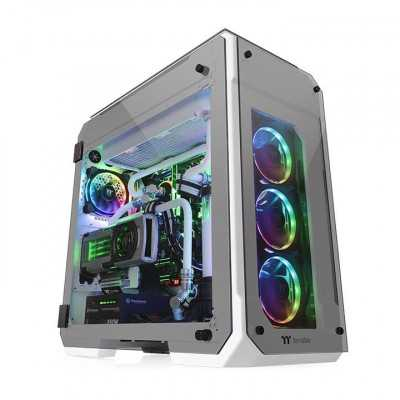 Thermaltake (View 71 SNOW WHITE) 4-Sided Tempered Glass E-ATX Full...
