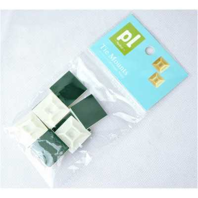 """Partlist 28mm """"White"""" 10pcs Two Way Adhesive Bases (CTPLAB28W10)"""