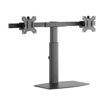 Brateck LDS-22T02 Dual Screen Pneumatic Vertical Lift Monitor Stand...