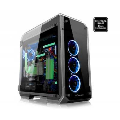 Thermaltake (View 71 Black) 4-Sided Tempered Glass E-ATX Full Tower...