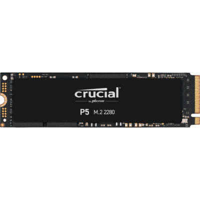 Crucial P5 500GB (CT500P5SSD8) M.2 (2280) NVMe PCI2 QLC NAND Solid State Drive SSD