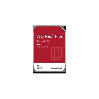 """WD 3.5"""" RED PLUS 3TB (WD30EFZX) 5400RPM NAS HDD"""