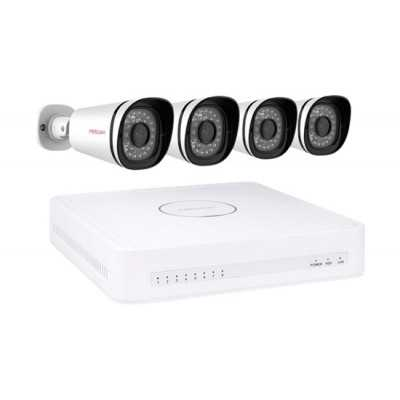 Foscam (FN3108E-B4-1T) 8 Channel HD NVR Kit with 4 x 720P PoE IP Cameras & 1TB HDD