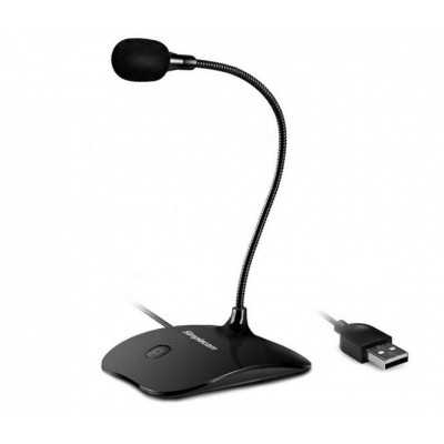 Simplecom (UM350) USB Desktop Microphone with Flexible Neck and Mute Button