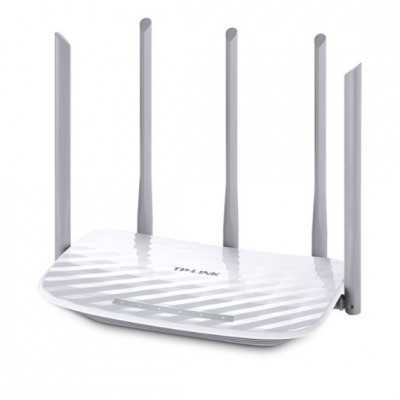 TP-Link Archer (C60) AC1350 Wireless Dual Band Router with 4 x 10/100 Port
