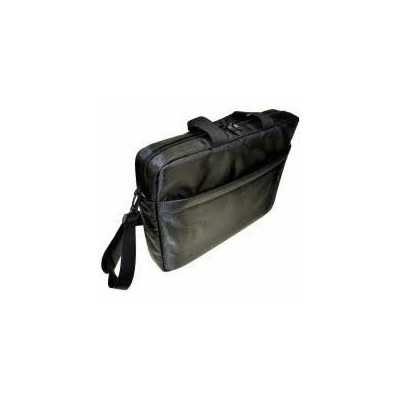 """STC 15.4"""" (STC-SOFT-15) Top Load Polyester Fabric Black Carry Bag"""